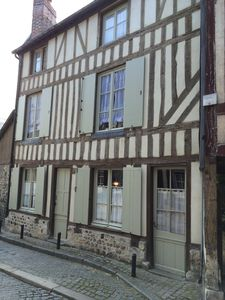 Photo for Charming old town house in heart of Honfleur, recently renovated