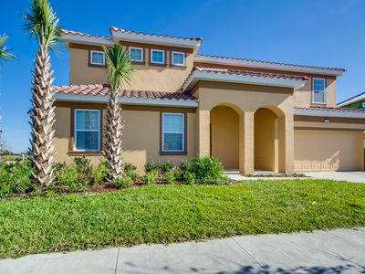 Photo for Beautiful 9 Bed Gated Pool Home At Solterra Resort