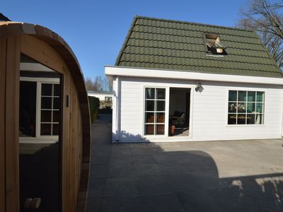 Photo for Luxury furnished house with sauna in fenced garden, 2 km from the Efteling