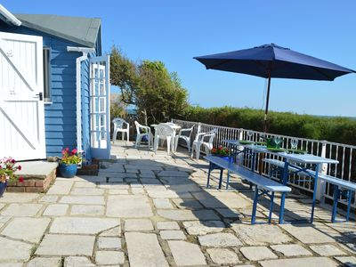 Photo for Booking 2018!! Seapoint Beach House-steps from the beach, pets welcome,Sleeps 4