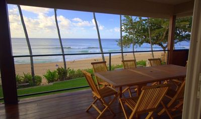Perfect Ocean Views from the Lanai!