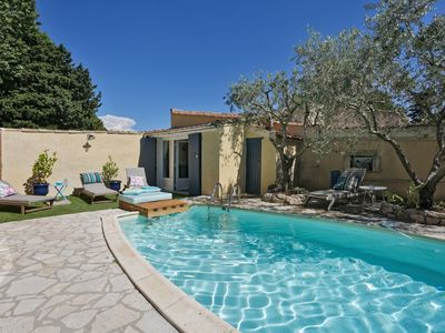Photo for HOUSE OF 3 BEDROOMS 10 MIN WALK FROM THE CENTER OF SAINT REMY DE PROVENCE