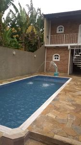 Photo for House with swimming pool in Caraguatatuba north coast sp praia das palmeiras