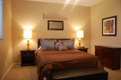 Warm and Comfortable Master Suite with Queen Bed