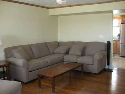 Living Room with fold out Bed
