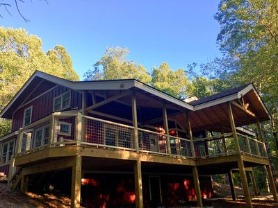 Photo for Bearwallow Retreat; located at top of Bearwallow Mountain. Hiking, relaxation, Hendersonville, Asheville & more!