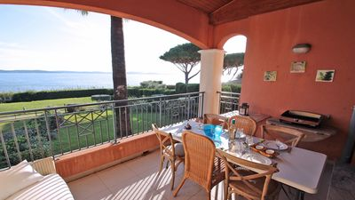 Photo for 4-room apartment - 6 people - Sea view - Air conditioning - WiFi - Walking distance - Sainte-Maxime