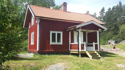 Photo for Holiday home in Åmmeberg at Vättern with beautiful natural environment for canoeing and hiking