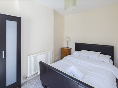 Bedroom 2 with double bed and wardrobe