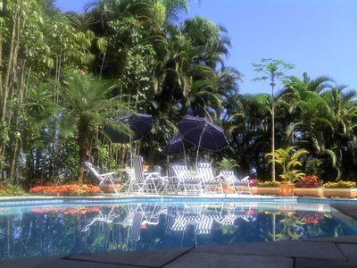 Photo for House in Condo, Rent, 6 Suites, Rent Guaruja, Cove, Pool, barbecue, air c