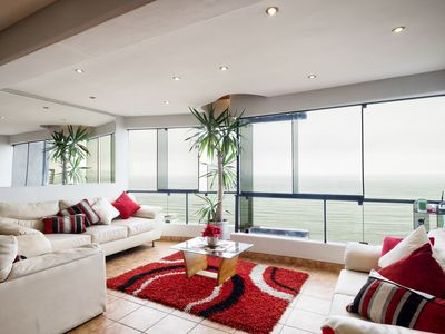 Photo for Oceanfront Penthouse in Miraflores