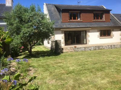Photo for Family house in the heart of the old market town of St Briac, south facing garden
