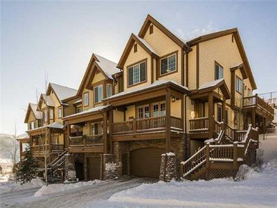 Photo for Spacious townhouse -- mountain views and easy access to multiple ski resorts