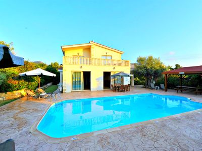 Photo for 200m to Argaka Beach - 4 Bed Villa - Private Swmming Pool - Wifi