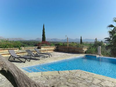 Photo for Vacation home Ferre Nou (POL111) in Pollença - 6 persons, 3 bedrooms