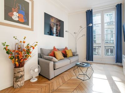 Photo for Nice 1 bedroom for 4 near Louvre