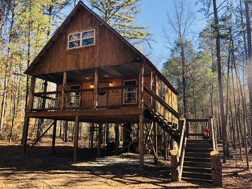 Property Image#3 Oark Cabin Rentals Panther Creek Cabin