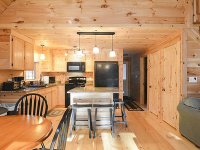 Photo for Family Friendly Rustic Newly Renovated Cabin Abutting The White Lake State Park.