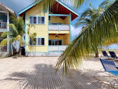 Photo for First-floor oceanfront villa with easy beach access and a gorgeous cove
