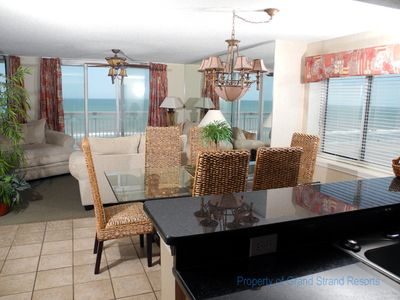 Photo for Crescent Shores Oceanfront Unit 612! Stunning Condo. Book your get away today!