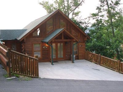 Photo for Luxury Log Home, Heaven's Window - Awesome Mountain Views