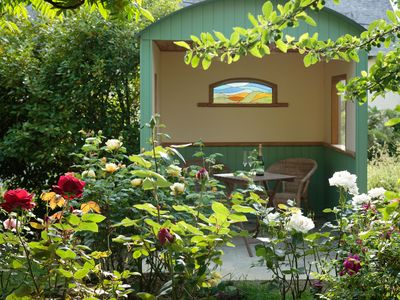 Photo for Comfortable accommodation in French countryside on permaculture smallholding.