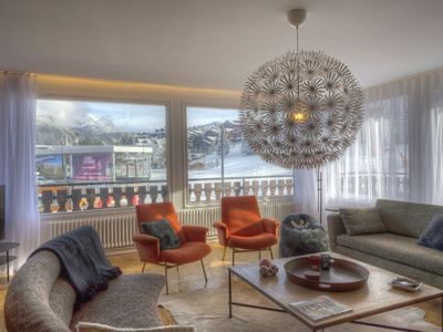 Photo for Apartment Barnabas with Ski-in/Ski-out