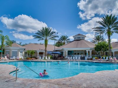 Photo for Five Star Resort 3 miles from Disney! Pool, Theater, Tennis, Volleyball & More