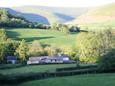 Photo for Alpaca Cottage 4* Rural retreat near Crickhowell in the Brecon Beacons