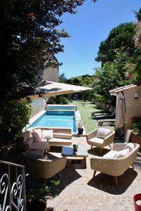 Photo for Charming quiet house in the heart of Albi, with heated pool