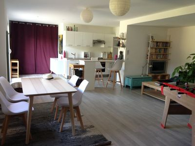 Photo for A 130-sq.m, warm,and bright house in Porto-Vecchio,10 min away from the beaches