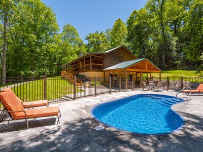 Photo for Beautifully remodeled lodge with 5 bedrooms, 3.5 baths, and seasonal in ground pool!