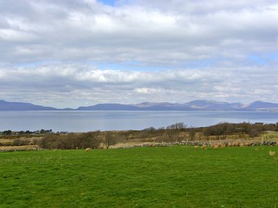 View of Clew Bay from near the property