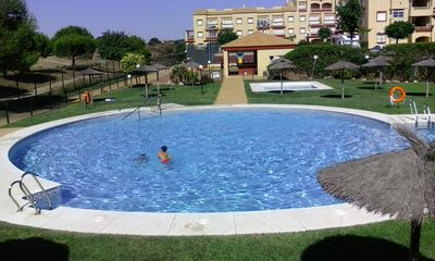 Photo for Apartment with Swimming Pool, Views of Golf Course