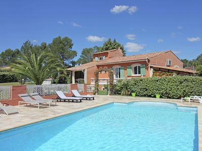 Photo for large villa with private swimming pool and beautiful garden, beaches at 15 km