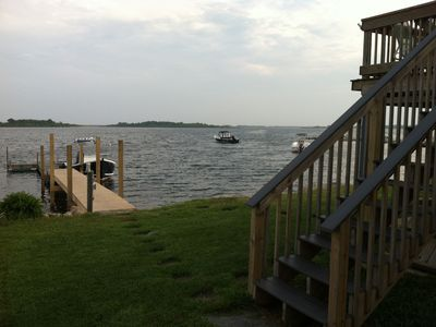 Photo for Home on Charlestown's Ninigret Pond! Beautiful sunsets, boat dock