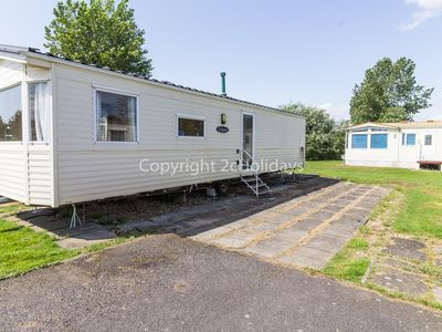 Photo for 8 berth caravan for hire at Southview Holiday park Skegness ref 33014 TE