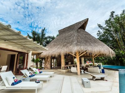 Photo for Punta Mita property on its own private beach and an amazing free-form infinity pool