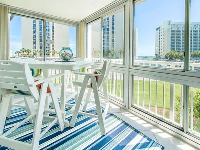 Photo for Shoreline Towers 3026-3BR☀Aug 17 to 20 $832 total!☀GulfViews! Steps 2 Beach!
