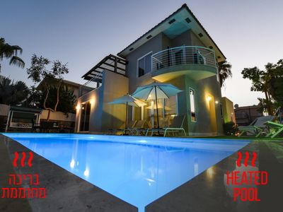 Photo for Magnificent villa - Heated pool