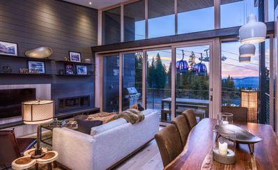 Photo for Modern Luxury ski-in/out Residence Mid-Mountain near Ritz at Tahoe