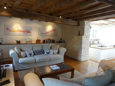 Photo for Le Chevalier, Puligny-Montrachet. Superb,  3 bdr/3bth, Village home, terrace