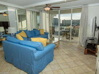 Photo for 502B is a beautiful 2 BR on the harbor with amazing views