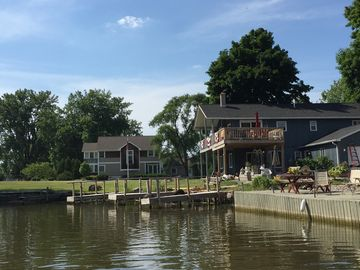 Antique Elegance at the water's edge, private dock
