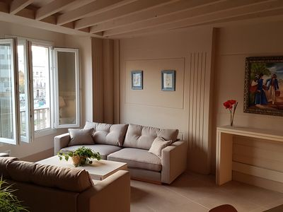 Photo for New, modern and quiet apartment in the historic center of Malaga.