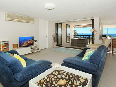 Photo for 3 Bedroom Ocean View Apartment between Alex Beach and Mooloolaba Beach
