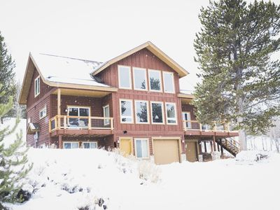 Photo for Spacious Mtn Home! Two Living Areas, 3BR+Loft, XBOX, Foosball