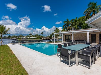 Photo for Stunning Fully Renovated Middle River Estate with breathtaking water Views!