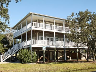 Photo for Paradise Found: 5 BR / 4 BA home in Oak Island, Sleeps 14