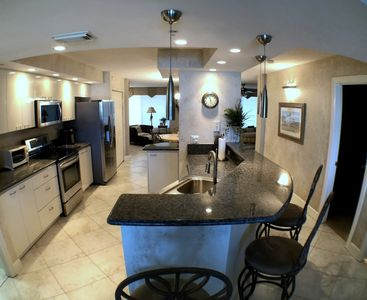 Photo for **Direct Oceanfront Ponce Inlet Towers Condo**Underground Garage Parking**